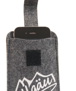 Filz-Tasche Smartphone »Allgäu«   anthrazit