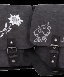 Kompakt-Tasche   anthrazit