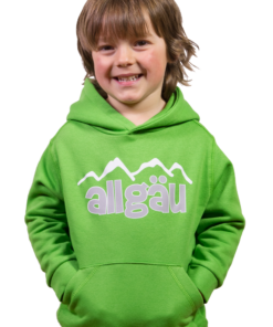 Kinder Kapuzenpulli »Iller« | grün