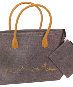 Filz-Tasche »Allgäu-Elegant« | anthrazit