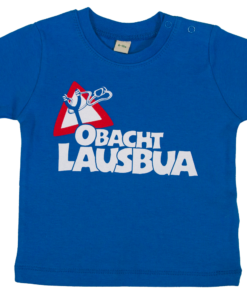 »Obacht Lausbua«   royalblau