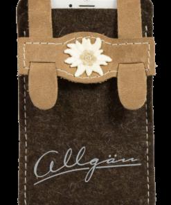 Filz-Tasche Smartphone »Ledarhos'«