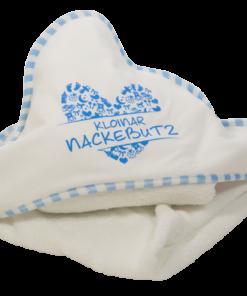 »Nackebutz« Kapuzen-Handtuch