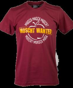 »Moscht Wanted« | burgund