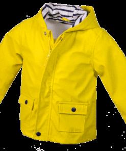 Kleinkinder Regenmantel»Allgäu«   gelb
