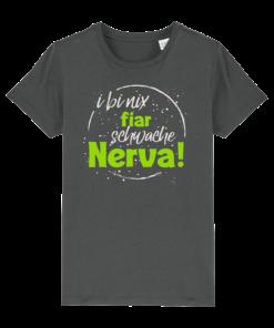 »Nix fair schwache Nerva« | anthrazit